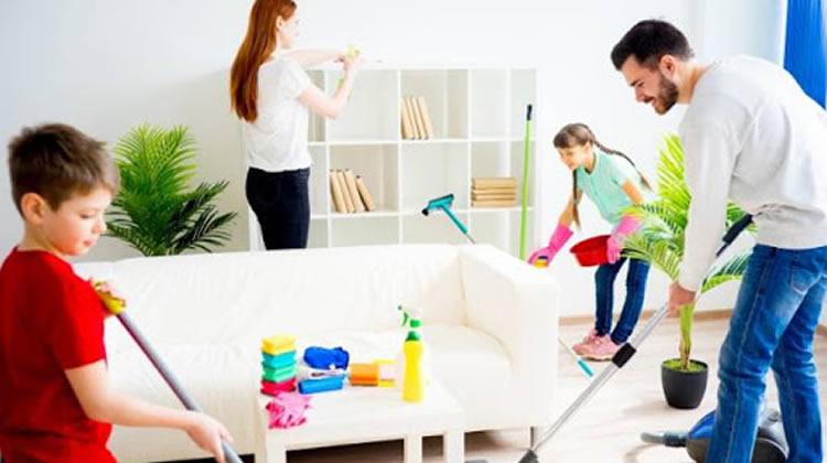¿Como mantener la casa limpia y ordenada?